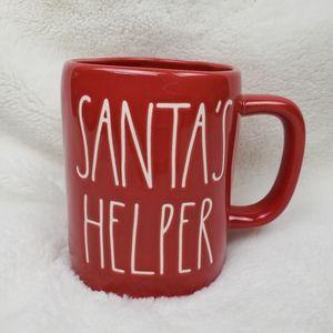 New Rae Dunn Santa's Helper LL Red Mug!